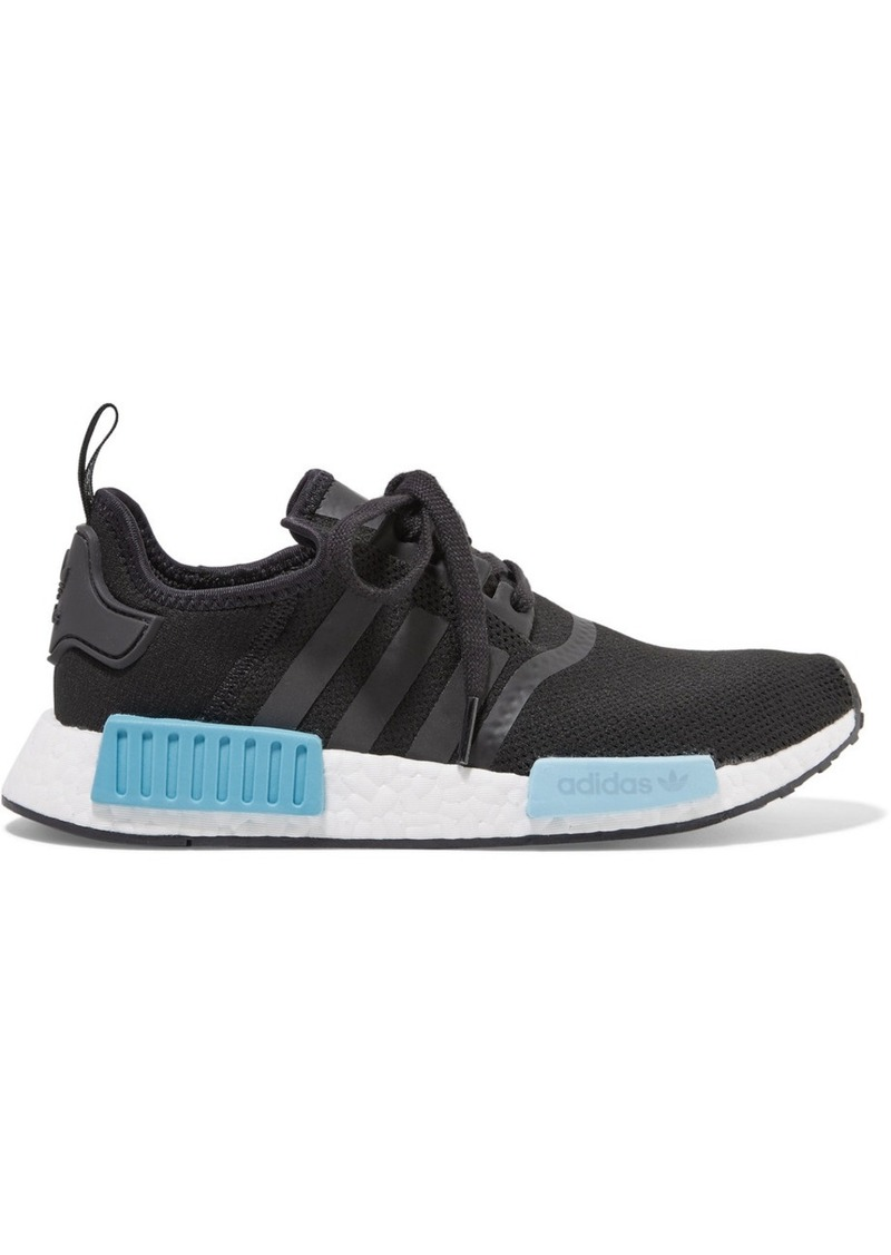 Originals NMD_R1 rubber paneled Primeknit sneakers