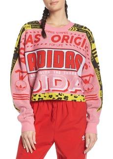 adidas Originals OG Logo Print Sweatshirt