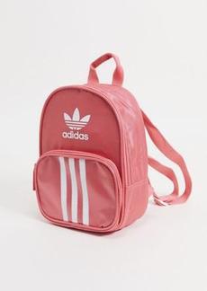 adidas Originals OG Santiago mini backpack in hazy rose