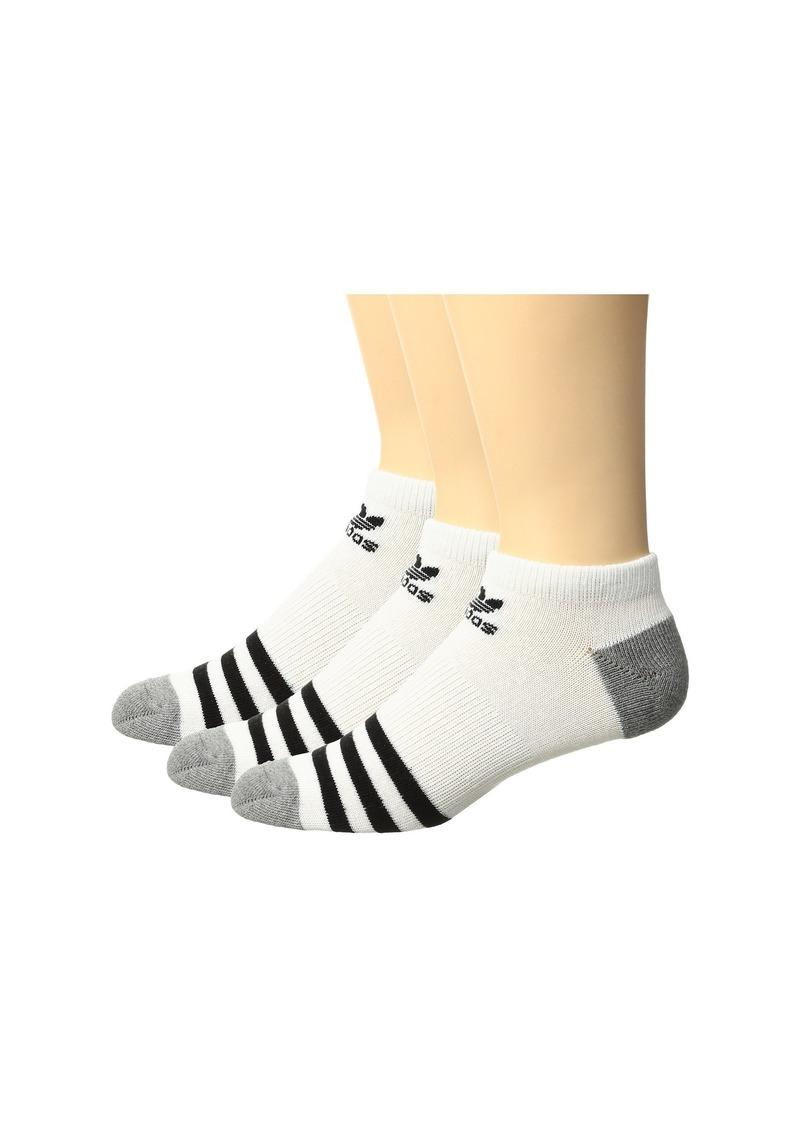 Adidas Originals Roller No Show Sock 3-Pack (Little Kid/Big Kid)