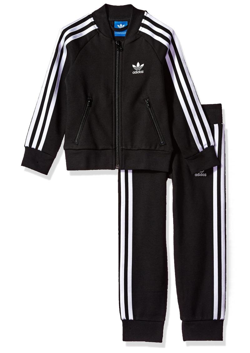 8fbcad811ef2 Adidas adidas Originals Outerwear Big Boys  Kids Superstar Track ...