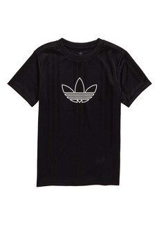 adidas Originals Outline Logo Jersey Top (Big Boys)