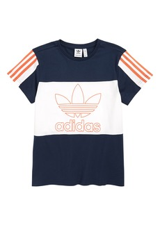 adidas Originals Outline Trefoil T-Shirt (Big Boys)