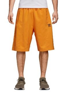 adidas Originals Pinstripe Pintuck Shorts