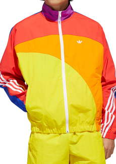 adidas Originals Pride Off-Center Nylon Jacket