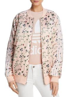 adidas Originals Reversible Floral Print Bomber Jacket
