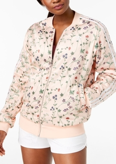 adidas Originals Reversible Floral-Print Bomber Jacket