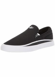 adidas Originals Sabalo Slip Sneaker White/Black  M US