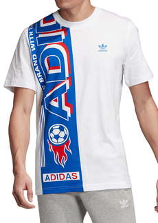 adidas Originals Side Scarf Graphic T-Shirt (Regular Retail Price: $30)