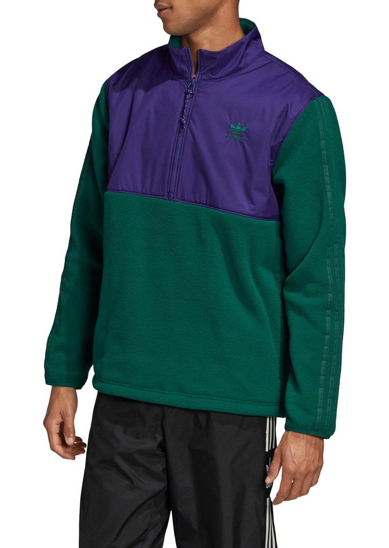 adidas Originals Speed Pack Fleece Half-Zip Pullover