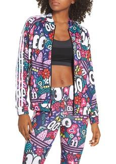 adidas Originals SST Doodlebomb Print Track Jacket