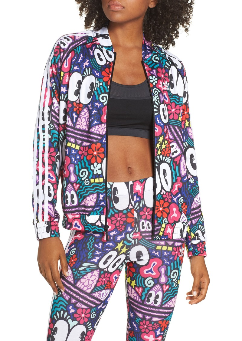 b5bab141ad2 Adidas adidas Originals SST Doodlebomb Print Track Jacket | Athletic ...