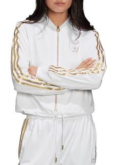 adidas Originals SST Metallic Triple-Stripe Track Jacket