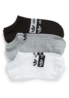 adidas Originals Stacked Forum 3-Pack No-Show Socks