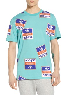 adidas Originals Stickerbomb Graphic T-Shirt