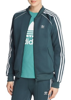 adidas Originals Stripe-Detail Track Jacket
