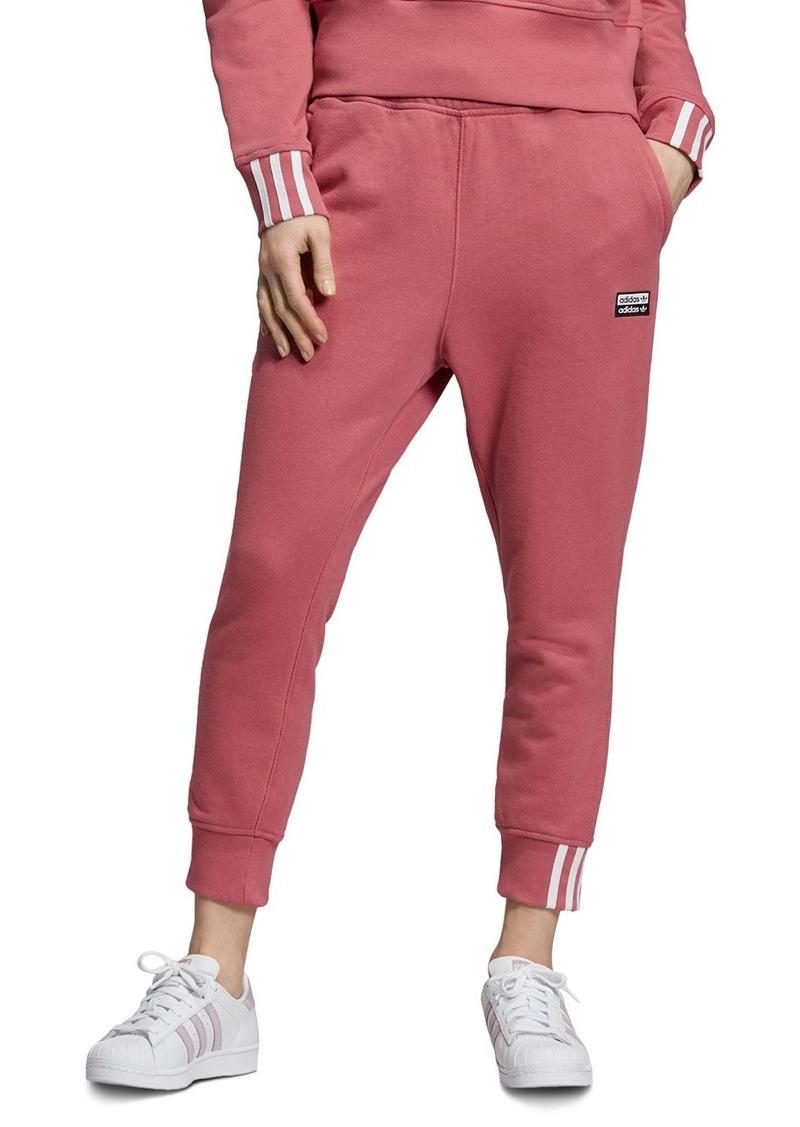 adidas Originals Striped-Cuff Sweatpants