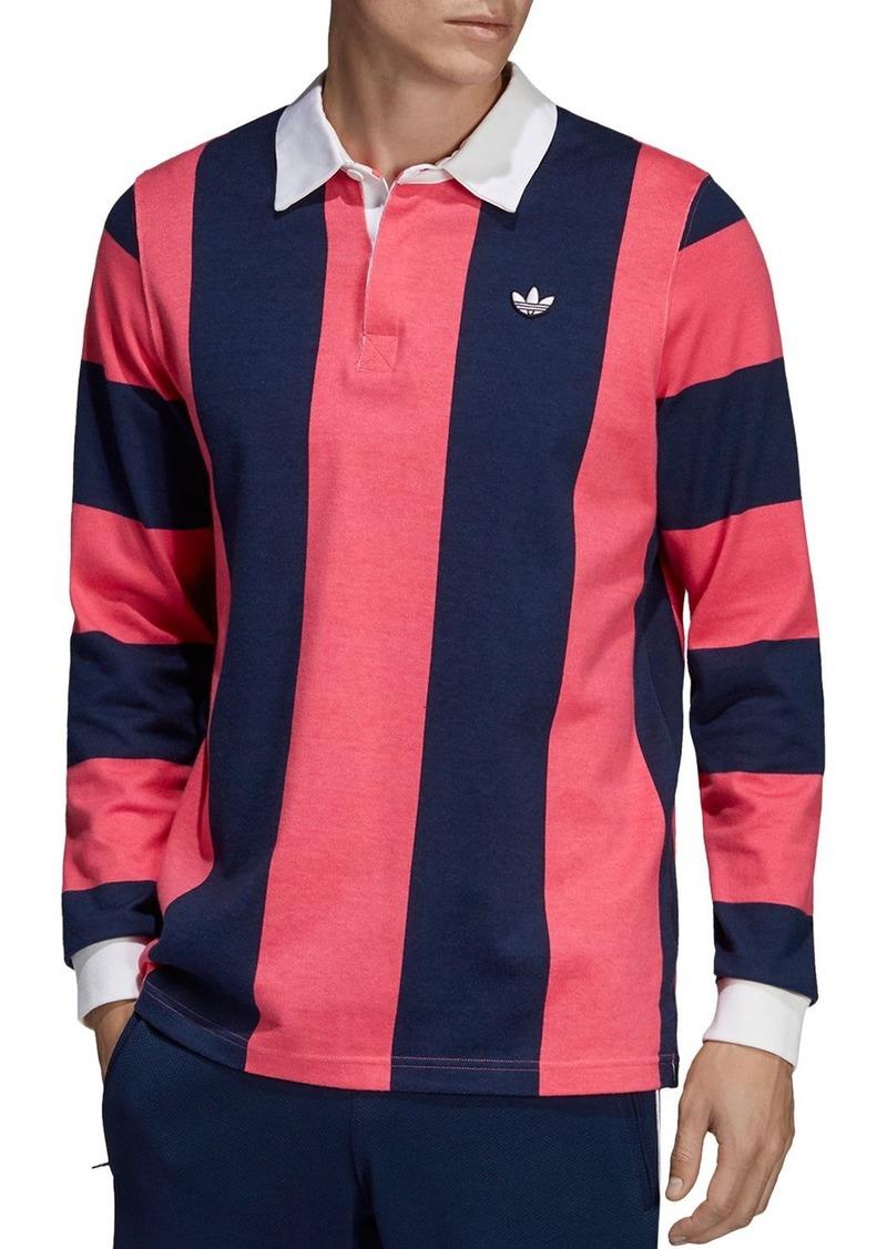 adidas Originals Striped Rugby Shirt