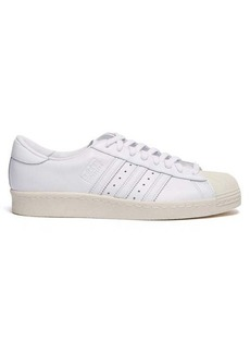 Adidas Originals Superstar 80s leather trainers