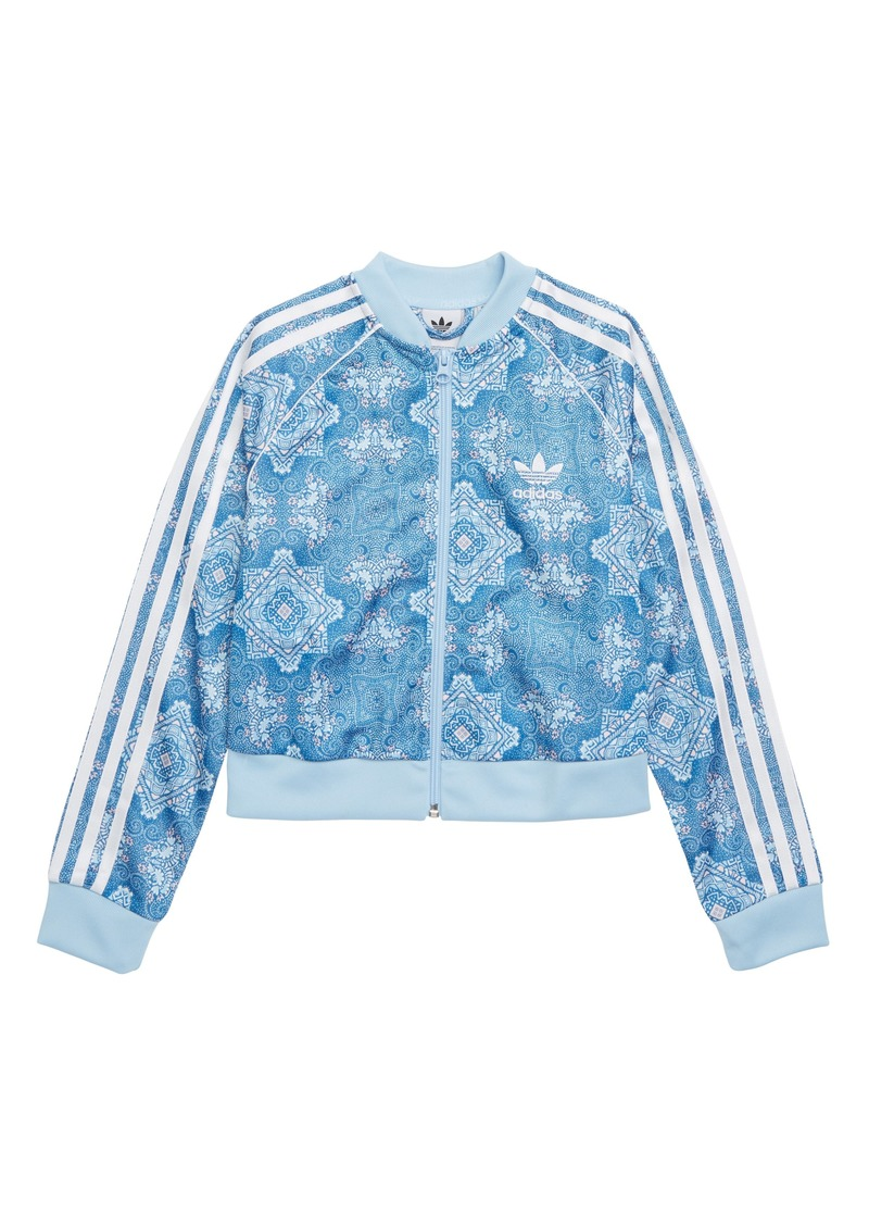 adidas Originals Superstar Track Jacket (Big Girls)