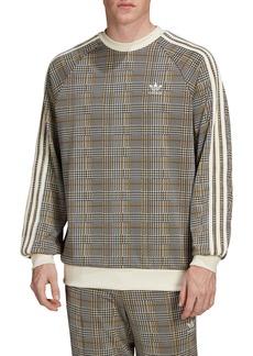 adidas Originals Tartan Crewneck Sweatshirt