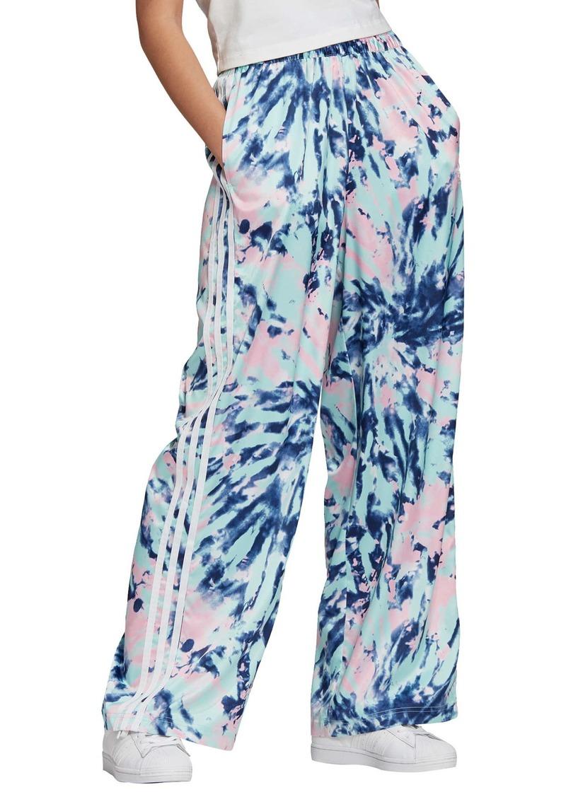 adidas Originals Tie Dye Satin Pants