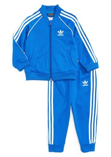adidas Originals Track Jacket & Athletic Pants Set (Baby Boys)