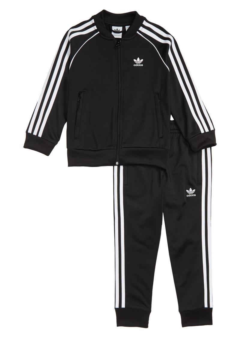adidas Originals Track Jacket & Sweatpants (Little Boys)