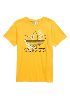 adidas Originals Trefoil Art T-Shirt (Big Boys)