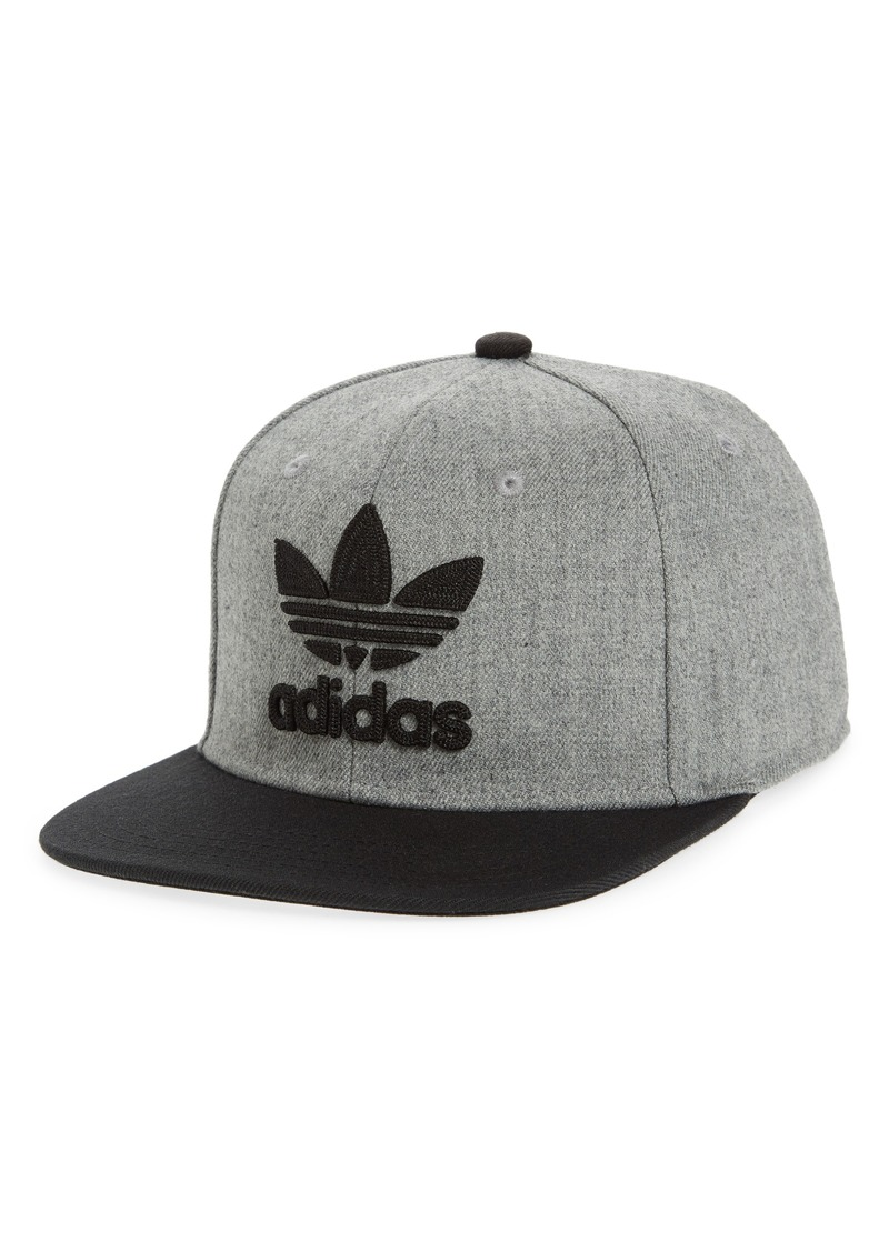 fd99785454794 Adidas adidas Originals Trefoil Chain Snapback Baseball Cap