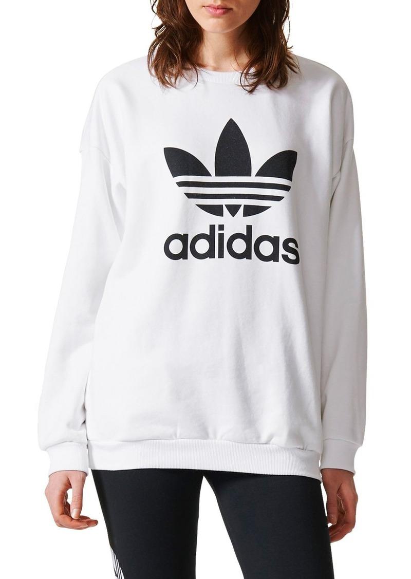 e4a9f1da13 Adidas adidas Originals Trefoil Crewneck Sweatshirt | Outerwear