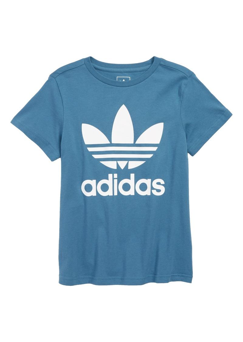 adidas Originals Trefoil Graphic T-Shirt (Little Boys & Big Boys)