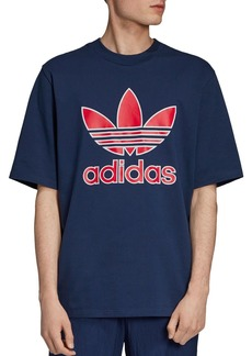 adidas Originals Trefoil Logo Graphic Boxy Tee