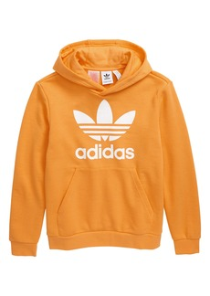 adidas Originals Trefoil Logo Graphic Hoodie (Big Boys)
