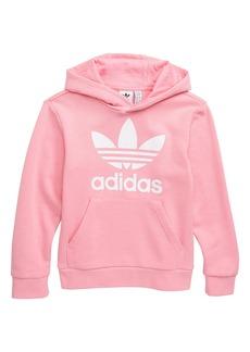 adidas Originals Trefoil Logo Hoodie (Big Girls)