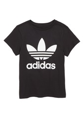 adidas Originals Trefoil Logo Tee (Big Girls)