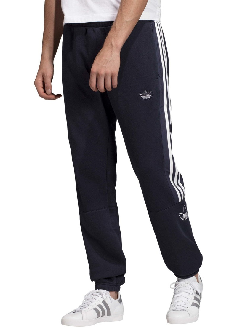adidas Originals Trefoil Outline Fleece Sweatpants