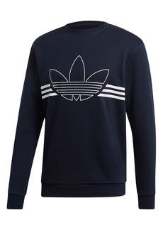 adidas Originals Trefoil Outline Fleece Sweatshirt