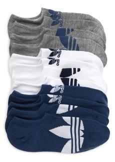 adidas Originals Trefoil Superlite Assorted 6-Pack Low Socks