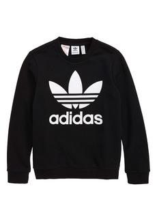 adidas Originals Trefoil Sweatshirt (Big Girls)