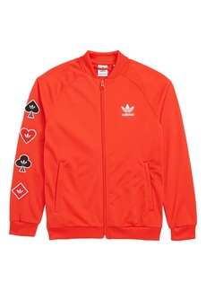 adidas Originals V-Day Superstar Jacket (Big Girls)