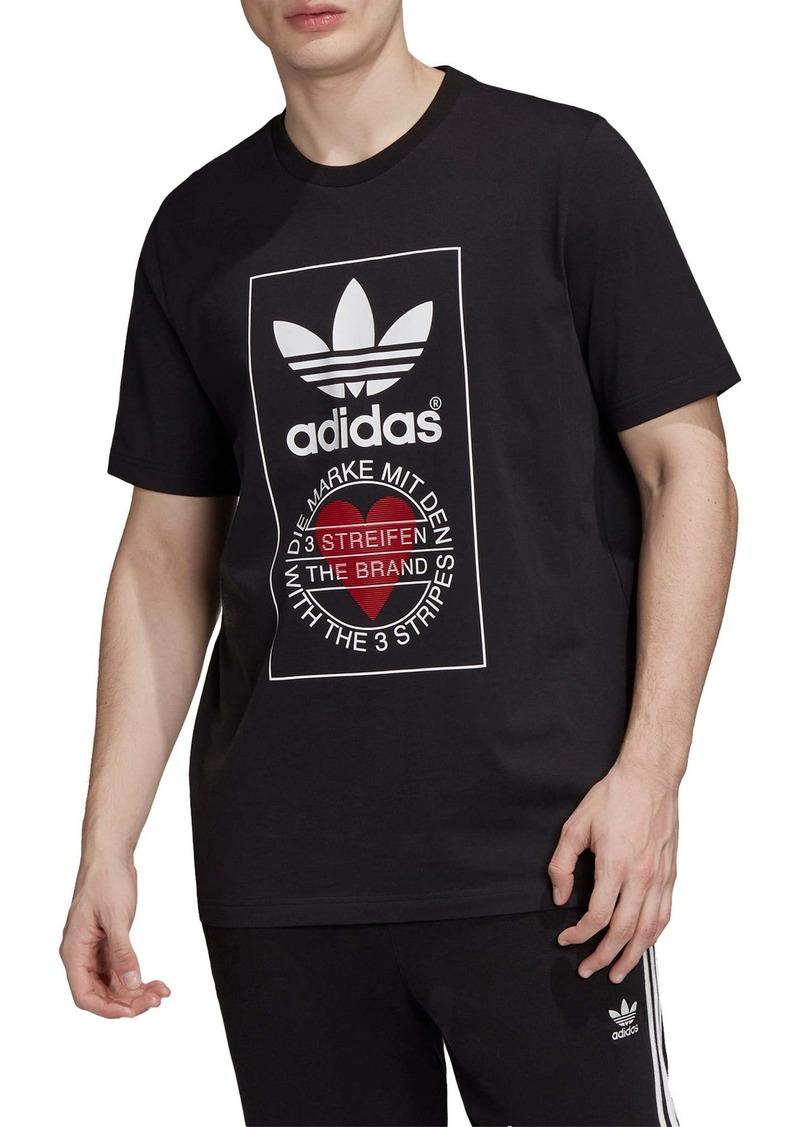 adidas Originals Valentine's Graphic Tee (Unisex)