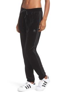 adidas originals Velvet Drawstring Track Pants