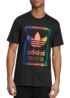 adidas Originals Vintage Rainbow Graphic Tee