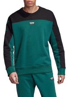 adidas Originals Vocal A Colorblock Crewneck Sweatshirt