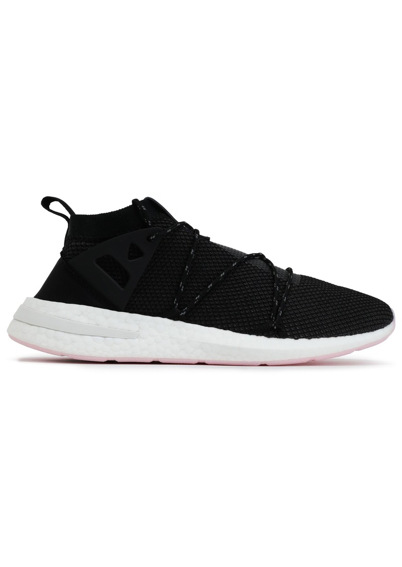 Adidas Originals Woman Arkyn Stretch-knit Sneakers Black