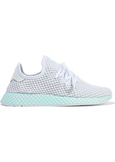 Adidas Originals Woman Deerupt Runner Mesh Sneakers White