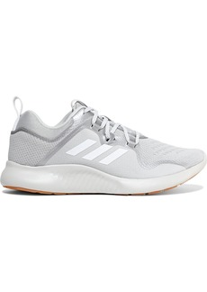 Adidas Originals Woman Edgebounce Shell-paneled Printed Mesh Sneakers Gray