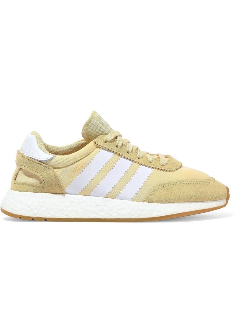 Adidas Originals Woman I-5923 Suede-paneled Neoprene Sneakers Yellow