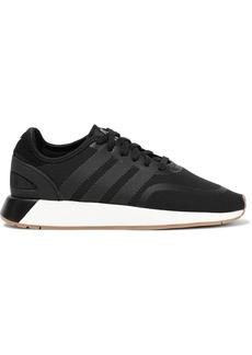 Adidas Originals Woman N-5923 Leather-trimmed Neoprene Sneakers Black